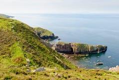 Scottish westcoast, cape Rua Reidh. Westcoast at cape Rua Reidh with view to Isle of Skye, Scotland Royalty Free Stock Images