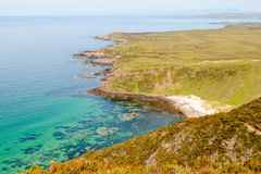 Scottish westcoast, cape Rua Reidh Royalty Free Stock Photography