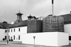 Scottish whisky distillery Royalty Free Stock Photography