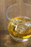 Scottish whisky in a glass Stock Photo
