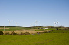 Scottish Wind Farm Stock Image