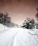 Scottish winter Stock Image