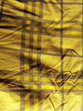 Scottish yellow textile Stock Images
