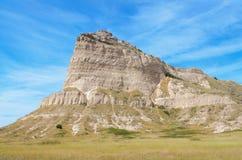 Scotts Bluff National Monument. In Nebraska Stock Images