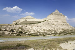 Scotts Bluff National Monument, Royalty Free Stock Photos