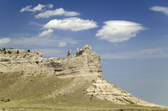 Scotts Bluff National Monument, Royalty Free Stock Image