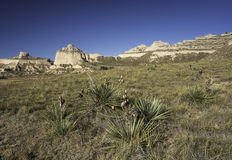 Scotts Bluff National Monument Royalty Free Stock Photo