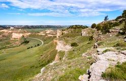 Scotts Bluff National Monument. Nebraska Royalty Free Stock Image