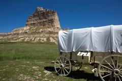 Scotts rättfram nationell monument Nebraska Royaltyfri Fotografi