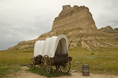 Scottsbluff NE Scenic Royalty Free Stock Image