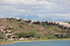 Scottsdale als Vorstadt-ranchland, die Stadt ist ein sportlicher dennoch entspannter Erholungsortbestimmungsort geworden, der für stockfoto