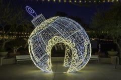 Scottsdale Arizona bożych narodzeń ornament fotografia royalty free