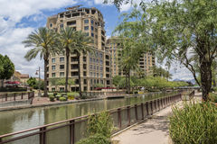 Scottsdale Arizona Waterfront District Stock Photos