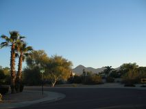 Scottsdale as suburban ranchland, the city has become a sporty yet laid-back resort destination famed for its posh properties Stock Images