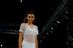 SCOTTSDALE,AZ-OCTOBER 3,Models showcasing designs Stock Photos