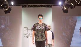 SCOTTSDALE,AZ-OCTOBER 3,Models showcasing designs Royalty Free Stock Photography