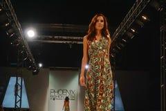 SCOTTSDALE,AZ-OCTOBER 3,Models showcasing designs Royalty Free Stock Image