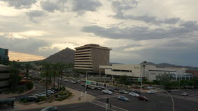 Scottsdale,Az, 8,24.15 Time-lapse Fashion Square Mall stock video footage
