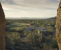 Scottsdale,Cavecreek serene majestic desert visa Stock Photography