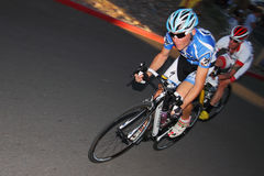 Scottsdale Cycling Festival Criterium. SCOTTSDALE, AZ - OCTOBER 2: Cyclists compete in the Scottsdale Cycling Festival Criterium, a high-speed circuit race on a royalty free stock photos