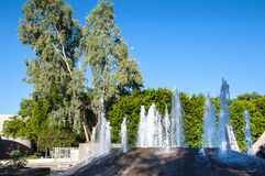 Public Park in Scottsdale in Arizona on the outskirts of Phoenix
