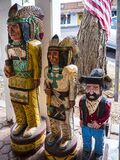 Scottsdale is in Arizona on the outskirts of Phoenix. The old Town is filled with Art that memorializes the history of the area