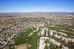 Scottsdale Golf & Condos Royalty Free Stock Photos