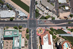 Scottsdale Intersection Royalty Free Stock Photos