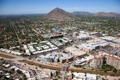 Scottsdale linia horyzontu Obraz Royalty Free