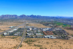 Scottsdale norte, o Arizona Imagem de Stock
