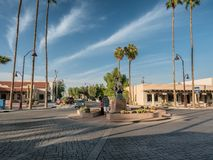 Scottsdale old town, art center, Phoenix Royalty Free Stock Photography