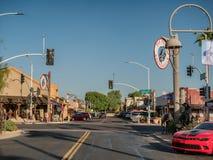 Scottsdale old town center, Phoenix Royalty Free Stock Photos