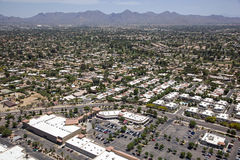 Scottsdale Rooftops & Restaurants Stock Photography