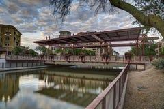 Scottsdale South Bridge at Sunset Stock Photos