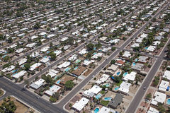 Scottsdale-Vorort stockbilder