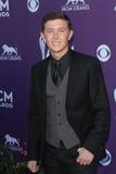Scotty McCreery à la quarante-septième académie de la musique country attribue des arrivées, Mgm Grand, Las Vegas, le nanovolt 04- Images libres de droits