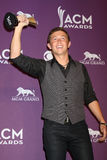 Scotty McCreery. LAS VEGAS - APR 1:  Scotty McCreery in the press room  at the 2012 Academy of Country Music Awards at MGM Grand Garden Arena on April 1, 2010 in Stock Image