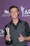 Scotty McCreery at the 47th Academy Of Country Music Awards Press Room, MGM Grand, Las Vegas, NV 04-01-12. Scotty McCreery  at the 47th Academy Of Country Music Royalty Free Stock Image