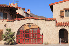 Scotty's castle Royalty Free Stock Photography