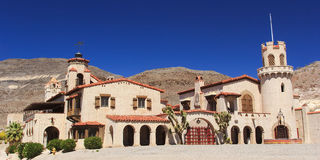 Scotty S Castle At Death Valley Royalty Free Stock Photography