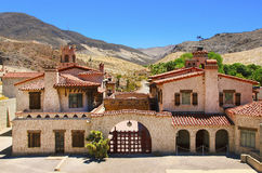 Scotty S Castle At Death Valley Royalty Free Stock Photo