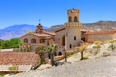 Scotty's Castle at Death Valley Royalty Free Stock Photography