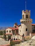Scotty's Castle at Death Valley Royalty Free Stock Photo