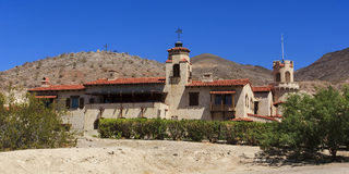 Scotty's Castle at Death Valley Royalty Free Stock Images