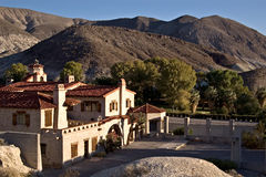 Scotty's Castle. In Death Valley, California Stock Images