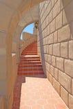 Scottys城堡-楼梯细节 库存图片