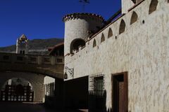 Scottys castle, Death Valley California stock image