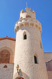 Scottys Castle - Tower Details Royalty Free Stock Photos