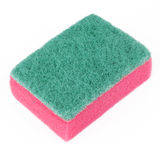 Scourer Sponge Cutout Stock Photo