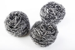 Scourer. On a white background Royalty Free Stock Images
